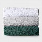 Strandtuchauflage Baumwolle, weiß