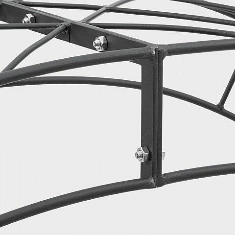 doppelter rosenbogen stahl. Black Bedroom Furniture Sets. Home Design Ideas