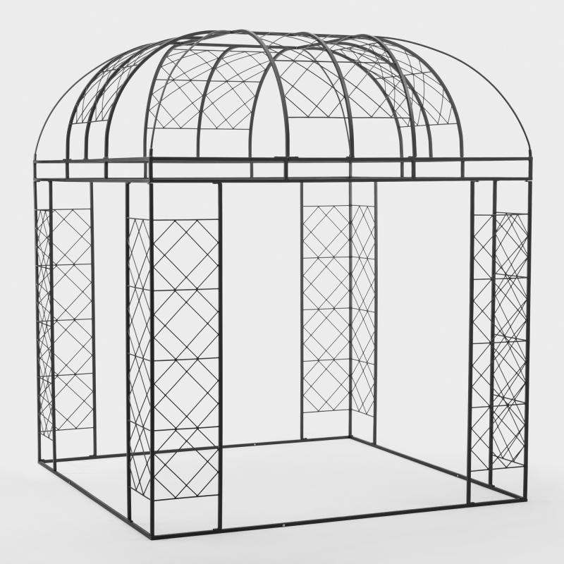 Pavillon Stahl - Biber.com