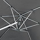 Pendelschirm Aluminium/PES 320 cm, anthrazit