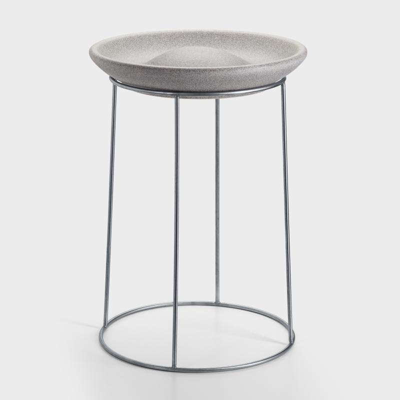 Vogeltränke Granit-Keramik - Biber.com