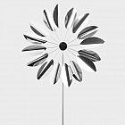 Windrad Blättertanz 40 cm, Edelstahl