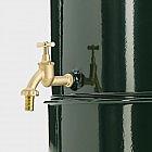 Regentonne mit Wasserhahn Stahlblech