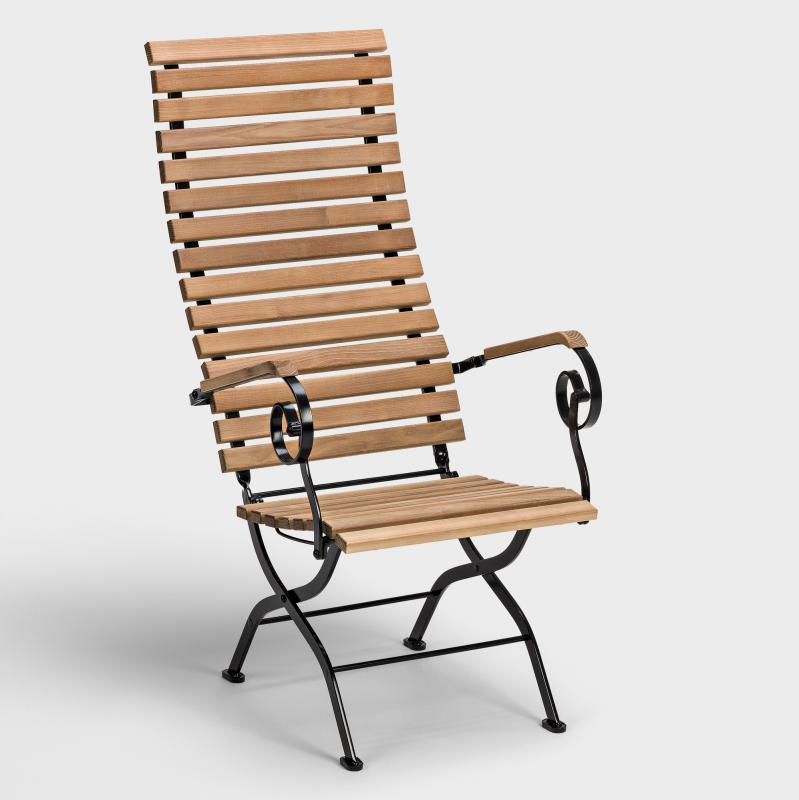 Deckchair Robinie - Biber.com