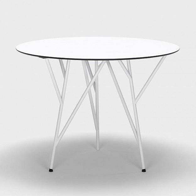 Tisch Astwerk Stahlrohr