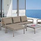 Lounge-Sessel Palma, Gurtbespannung