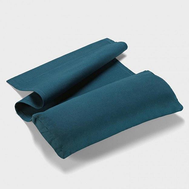 Nackenkissen Baumwolle, blau
