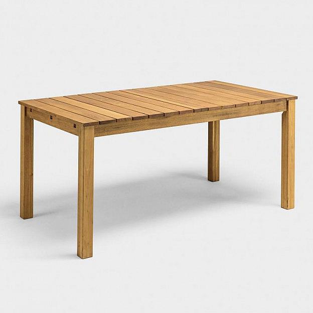 Gartentisch 90 X 160 Cm Robinie Biber Com