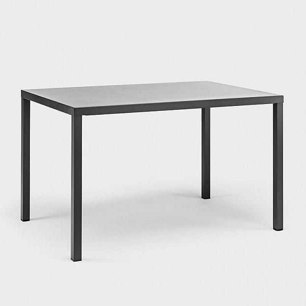 Gartentisch 100 X 80.Gartentisch Ares Stahl 120 X 80 Cm