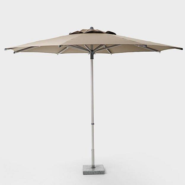 Premium-Sonnenschirm, taupe