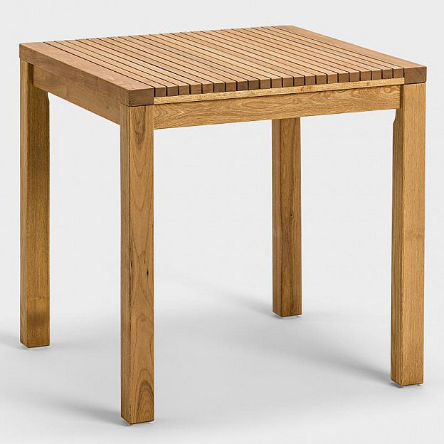 Tisch Robinie 75 x 75 cm